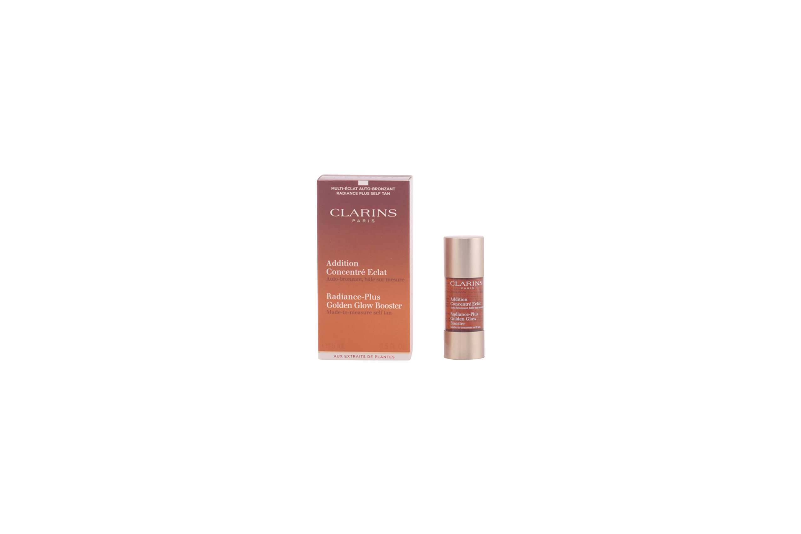 f4a1385b99f64 Amazon.com  Clarins Radiance-Plus Golden Glow Booster Self Tanning Fluid