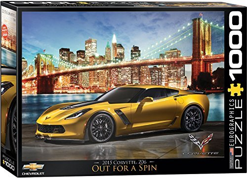 EuroGraphics 2015 Chevrolet Corvette Z06  Out for a Spin Jigsaw Puzzle (1000-Piece) by EuroGraphics