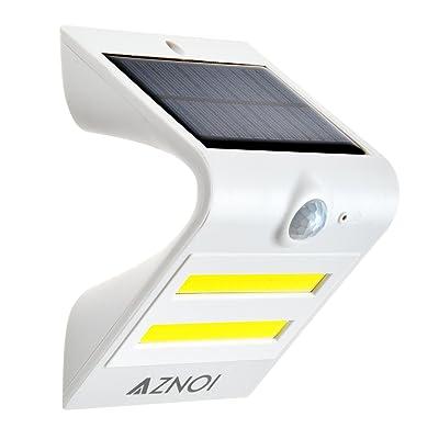 Aznoi Lampe Solaire Cob Led Pir Automatique Sans Fil Luminaire