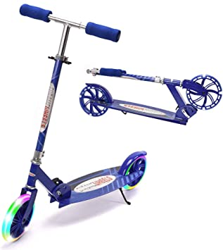 Amazon.com: ChromeWheels Kick Scooter, Deluxe 8 pulgadas ...
