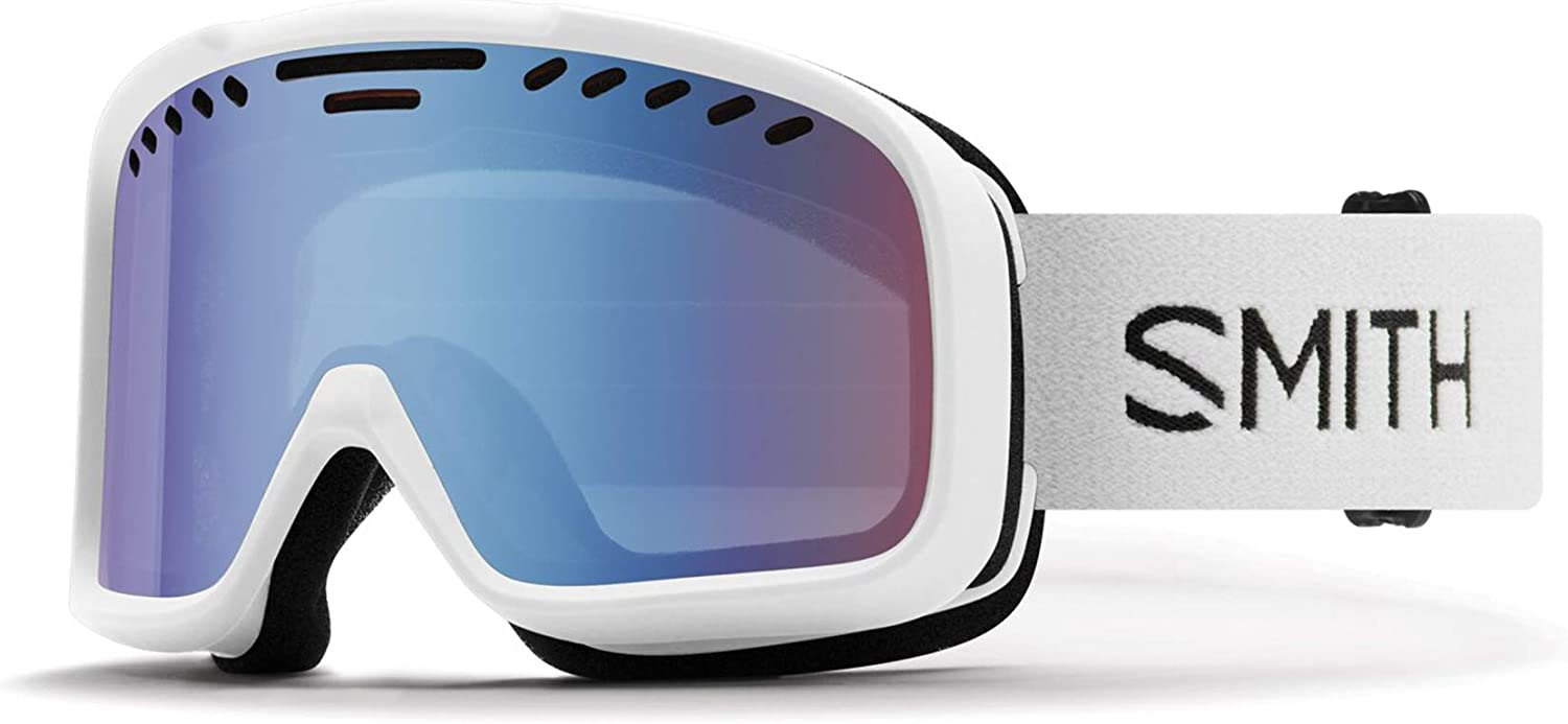 Smith Optics Project Adult Snow Goggles - White/Blue Sensor Mirror/One Size