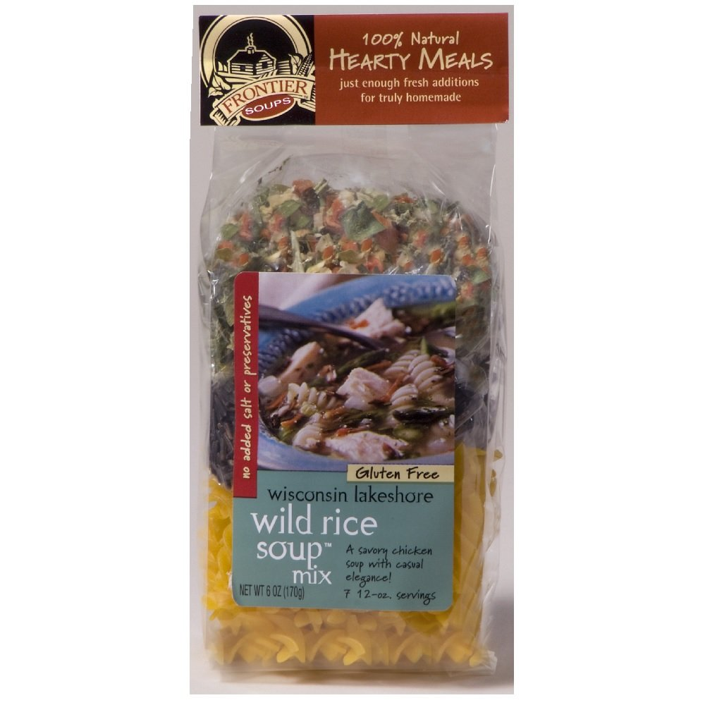 Frontier Soups Hearty Meals Wisconsin Lakeshore Wild Rice Soup Mix -- 6 oz