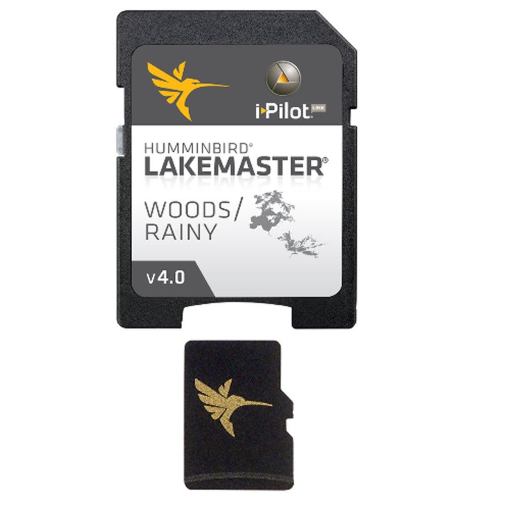 Humminbird LakeMaster Chart - Woods/Rainy - MicroSD/SD Consumer Electronics by Humminbird