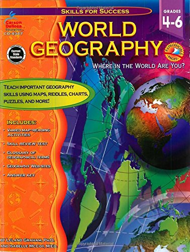 World Geography Grades 4   6: Where in the World Are You (Skills for Success)