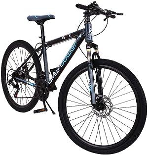 VANP Stone Mountain Bike 26 Inch 21-Speed Mountain Bike,Junior Aluminum Full Mountain Bike Bicycle for Men Women