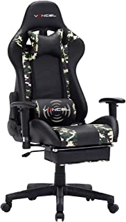 EAVANCEL Gaming Silla Oficina Reclinable de Ergonómico con ...