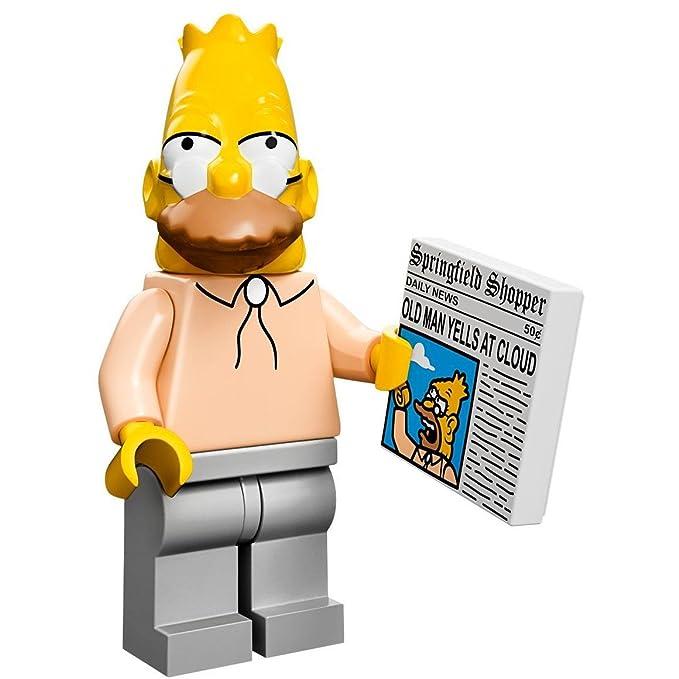 colsim-8 Lego Simpsons Krusty der Clown Minifigur Neu Minifig New