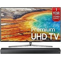 Samsung UN65MU9000FXZA 65 4K Ultra HD Smart LED TV (2017 Model) + HW-MS750 Sound+ Premium Soundbar + 1 Year Extended Warranty