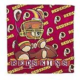 NFL Washington Redskins Micro Fiber Towel, 16 x 16-Inch, White