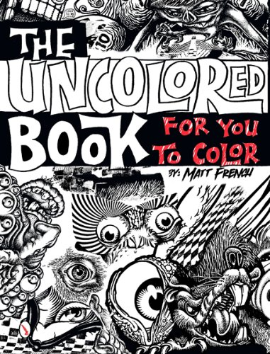 Download The Uncolored Book for You to Color PDF