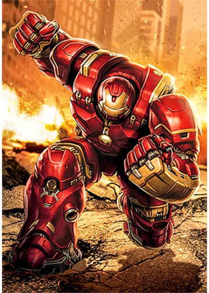 Kit de broderie diamant 5D /à faire soi-m/ême kit de broderie diamant 5D /à faire soi-m/ême Iron Man