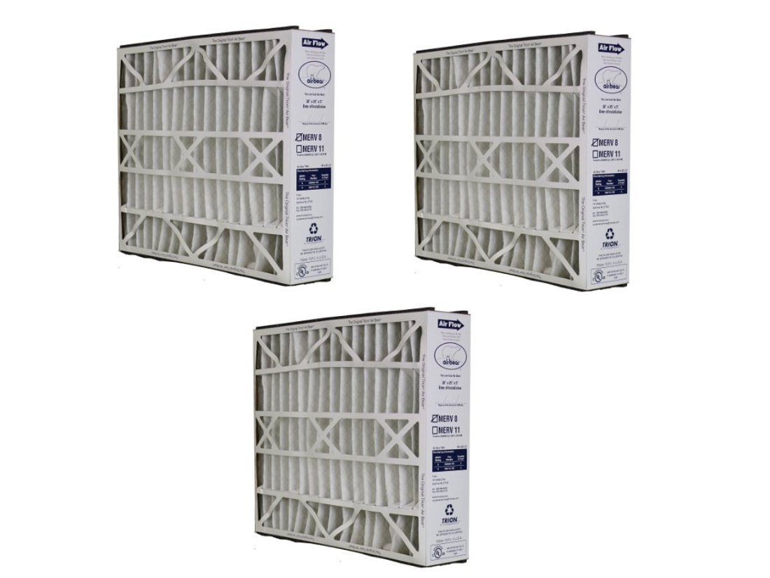 255649-102 20x25x5 Air Bear Supreme 2000 Media Filter Replacement 3-Pack