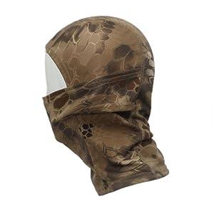 Ularmo Masque camouflage armée Cyclisme Moto Cap Chapeaux Balaclava Full Face