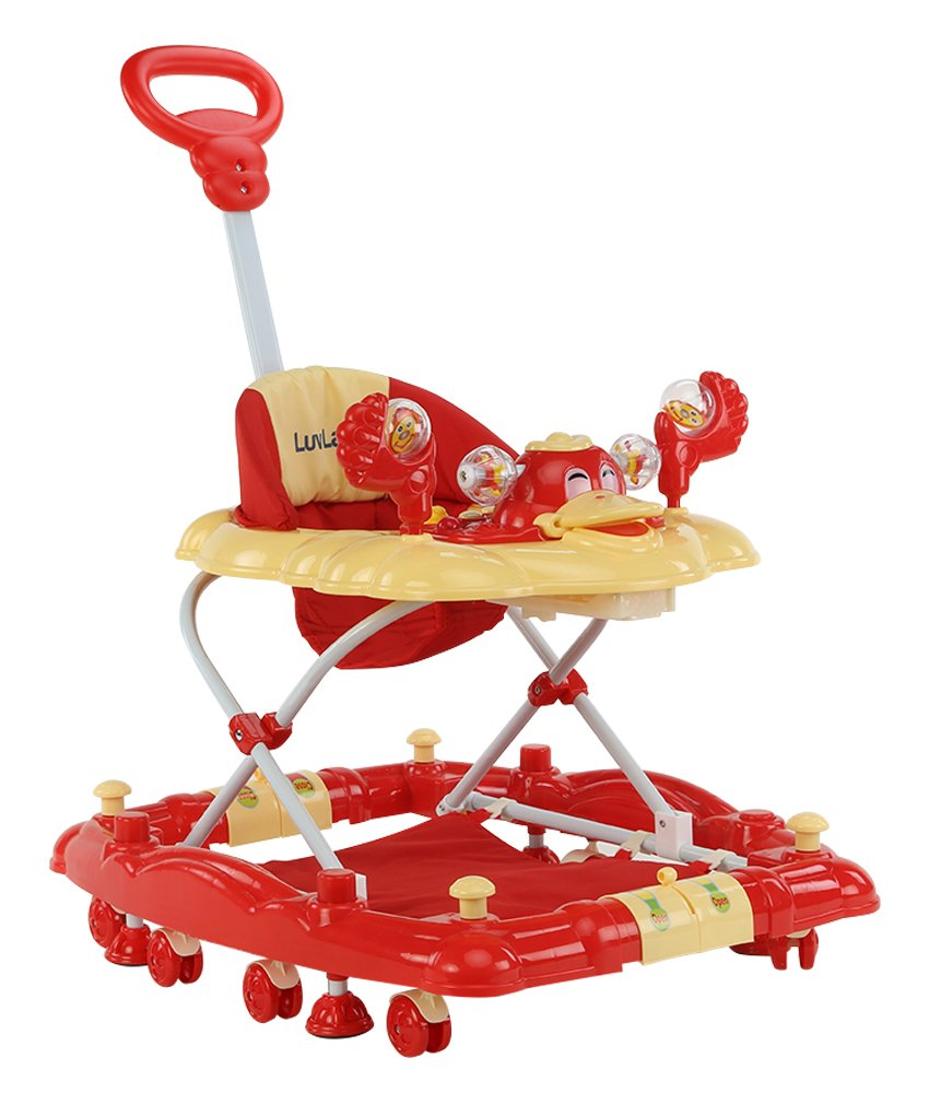 Buy LuvLap Comfy Baby Walker with Rocker - Red Online at Low Prices in  India - Amazon.in