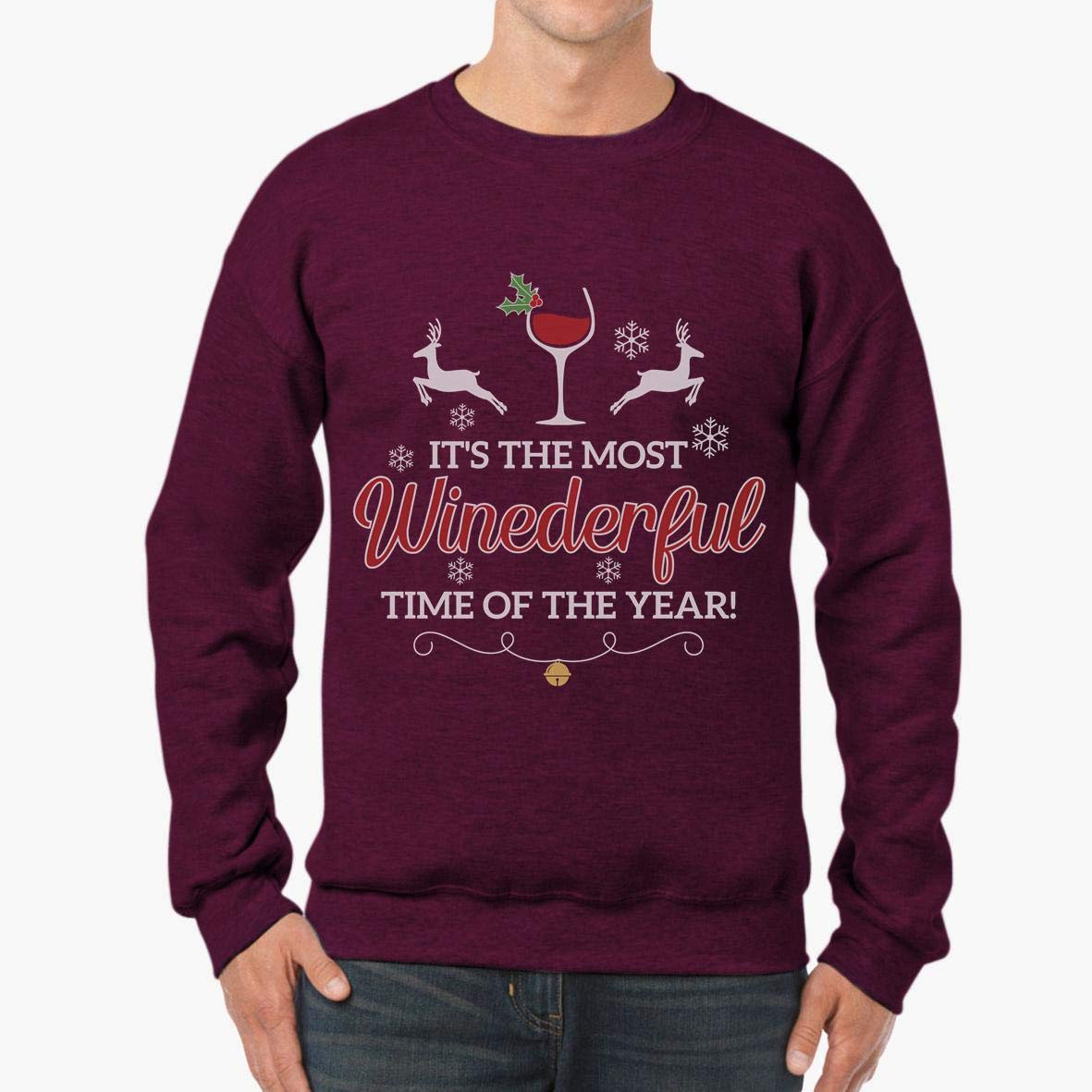 Doryti Its The Most Winederfull Time of The Year Unisex Sweatshirt tee