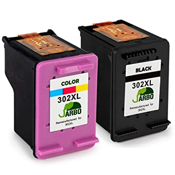 Groovy Jarbo 302Xl Cartouches Remanufactured Hp 302 Cartouches Dencre Compatible Avec Hp Deskjet 3630 2130 2132 1110 Hp Envy 4520 4527 4524 Hp Officejet Interior Design Ideas Gentotryabchikinfo