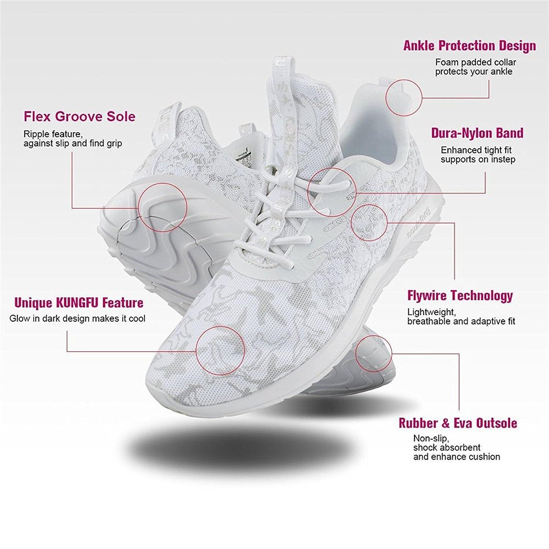 Soulsfeng Zapatos Deportivos Zapatillas Zapatos de Hombres para Mujer Calzado Deportivo Zapatos Planos Zapatos Con Cordones(gris 45EU) anGKHpW5IU