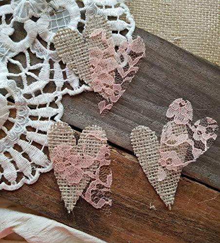 Rustic Baby Shower Decorations, Burlap Bridal Shower Decorations, Cake or Dessert Table -