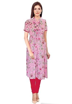 ced88f298e Pink Panda Women's Cotton Maternity Kurti (FKURTI003D, Medium ...