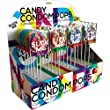 Candy Condom Pops Display 24 Count Lollipos