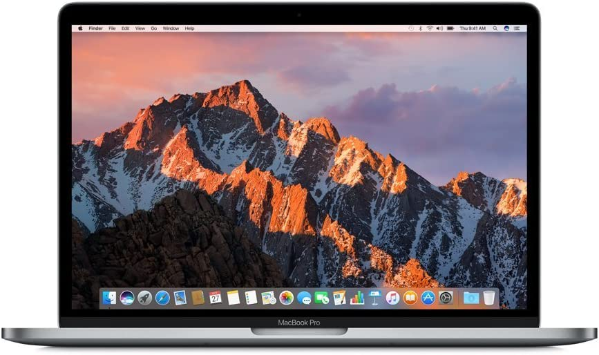 "Apple MacBook Pro Retina w/ Touch Bar MLH12LL/A 13"" Laptop, 3.3GHz Intel Dual Core i7, 16GB RAM, 512GB SSD, Space Gray (Renewed)"