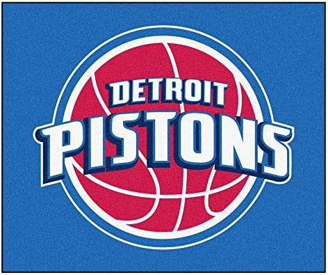 Detroit Pistons Tailgater Rug FANMATS 19439 Team Color 59.5x71 NBA