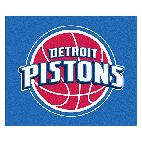 FANMATS 19439 NBA - Detroit Pistons Tailgater Rug , Team Color, 59.5''x71'' by Fanmats