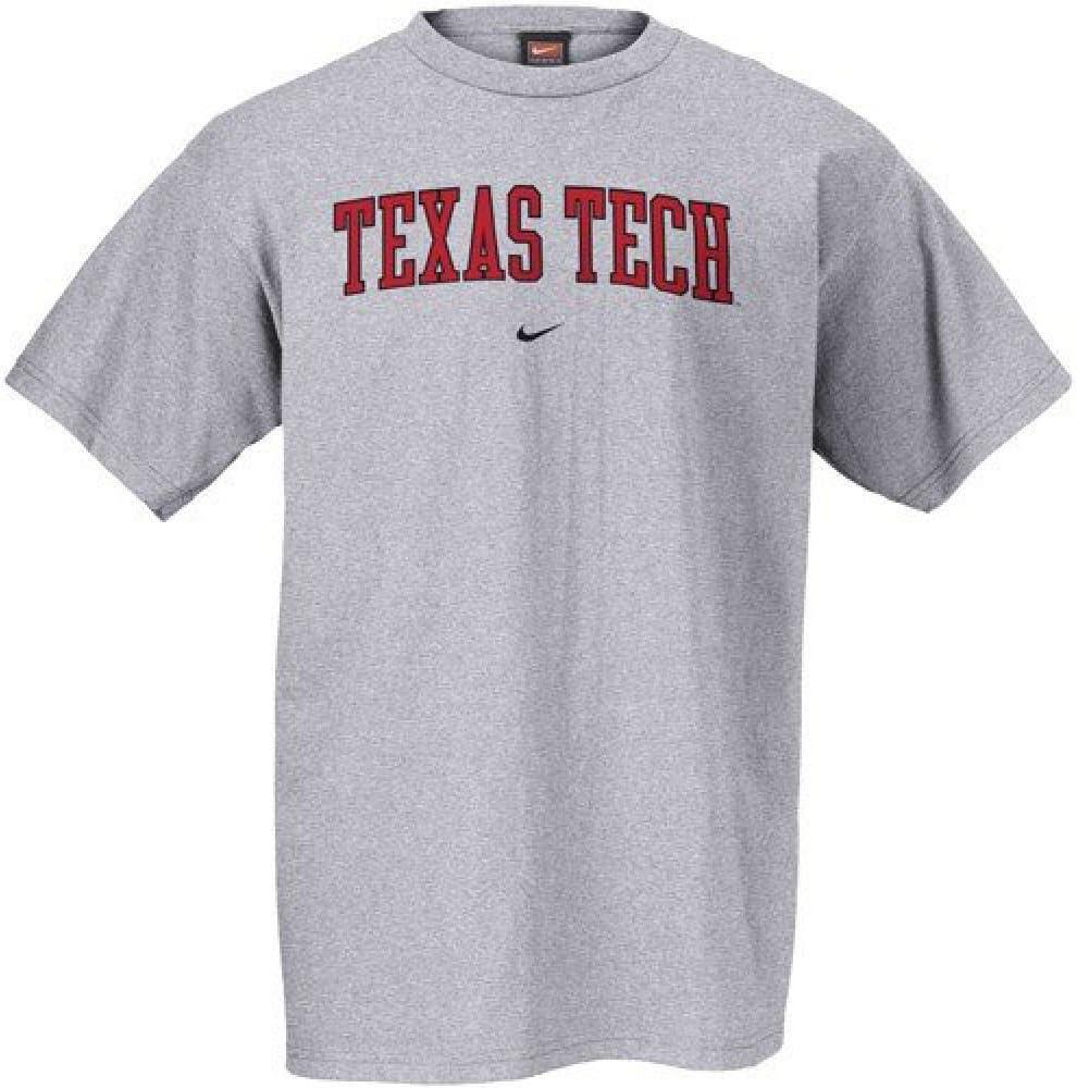 Nike Texas Tech Red Raiders Gris Classic College Camiseta de Manga Corta Camiseta Deportes de Equipo, Hombre Unisex, Gris: Amazon.es: Deportes y aire libre