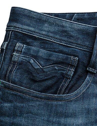 Blue Denim Hombre para REPLAY Anbass Azul Jeans qtwY4X4S