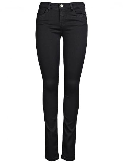 ONLY Damen Jeans Normaler Bund 15077793//SKINNY REG SOFT ULTIMATE BLACK NOOS