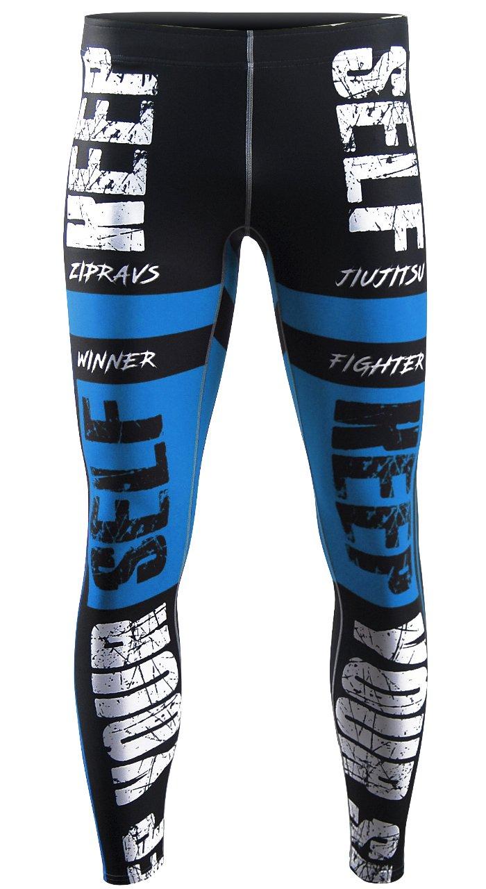 45e667e097caca zipravs Men's Compression Sports Running Workout Long Tight Pants Leggings (S~3XL)