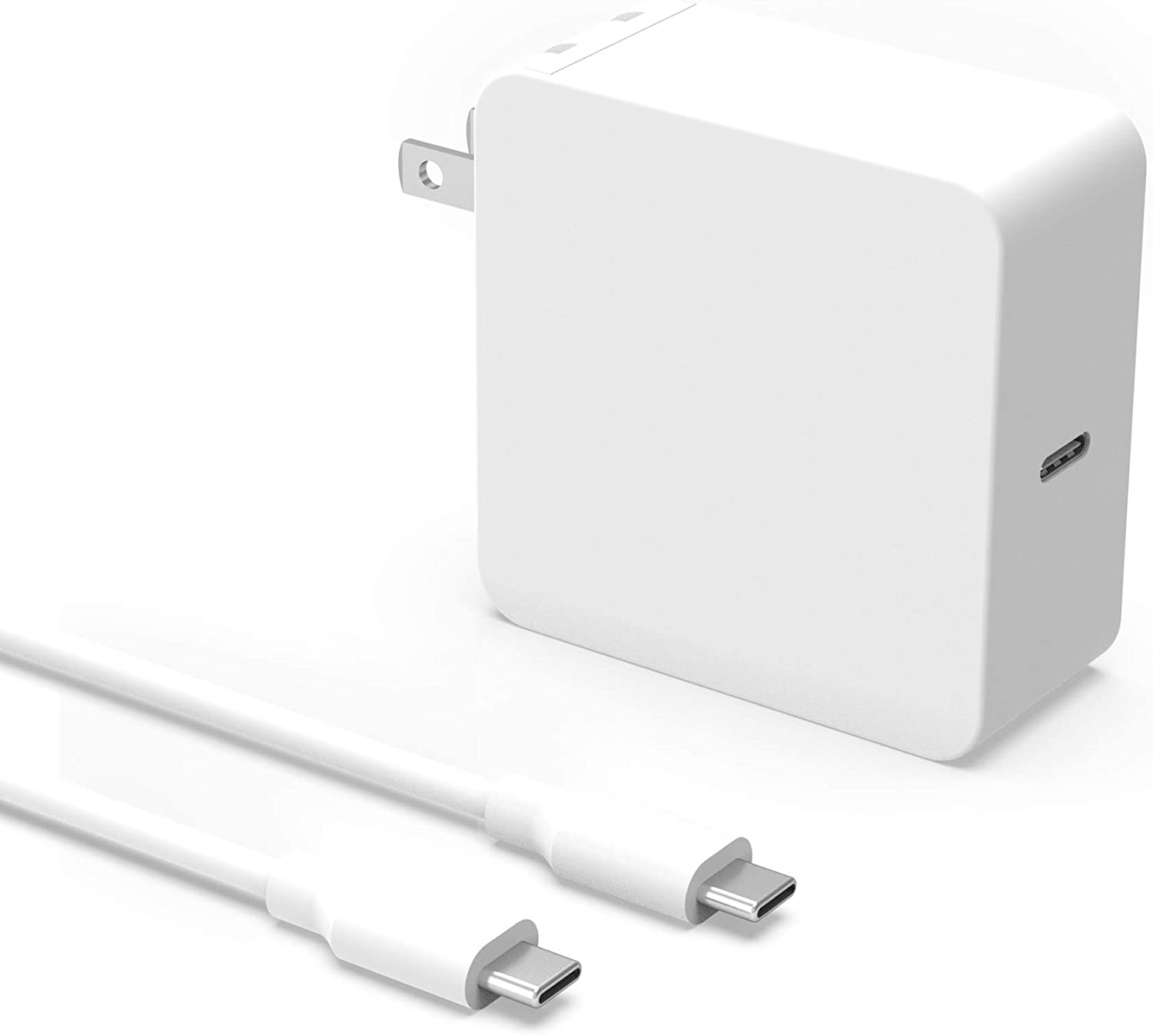 [UL Listed] USB C AC Adapter Charger for Huawei Matebook X Pro Laptop with 7.5Ft Type C Power Supply Cord