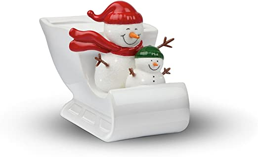 2020 Teleflora Christmas Container Snowman Can Amazon.com: Teleflora Christmas Planter (Snowman Open Sleigh Ride