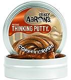 Crazy Aaron's Putty World シンキング パティ プレシャス・メタル ( ラメ入り ) シリーズ EU安全規格適合 内容量45g スモールサイズ Made in USA 日本正規代理店品 【 コパー・クラッシュ 】 CR011