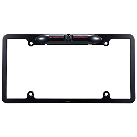 Amazon.com: Car License Plate Frame Rearview Backup Camera, Reverse ...