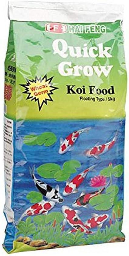 LARGE PELLETS HAI FENG QUICK GROW KOI FOOD 15KG 33LB