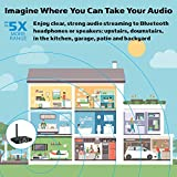 160ft LONG RANGE Bluetooth Transmitter and Receiver 2-in-1, Adapter to add wireless audio to TV, PC, speakers, stereos, iPhone, iPad, laptop and more. 3.5mm or RCA (Miccus Home RTX - 2 Yr Warranty)