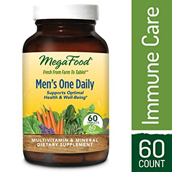 Amazon Com Megafood Men S One Daily Multivitamin Support For