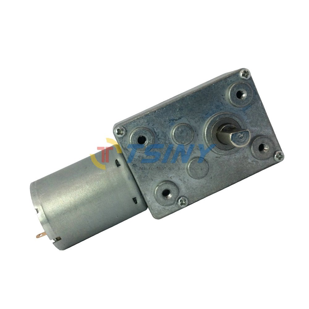Tsiny Dc 6v Low Speed 1 Rpm Geared Reducer Motor With Worm Gear Box 148 Ratio Smart Car Robot Wheel For Parts