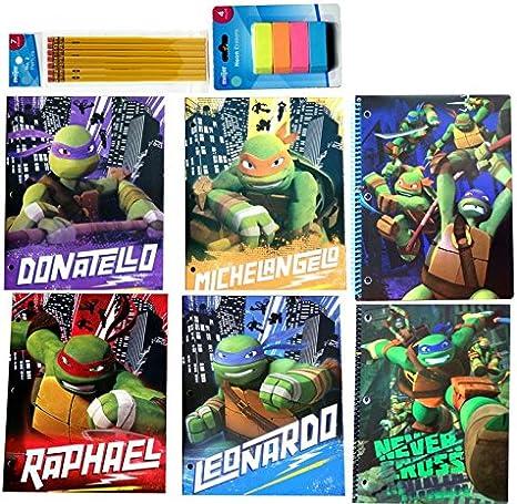 Teenage Mutant Ninja Turtles escuela suministros portátiles y ...