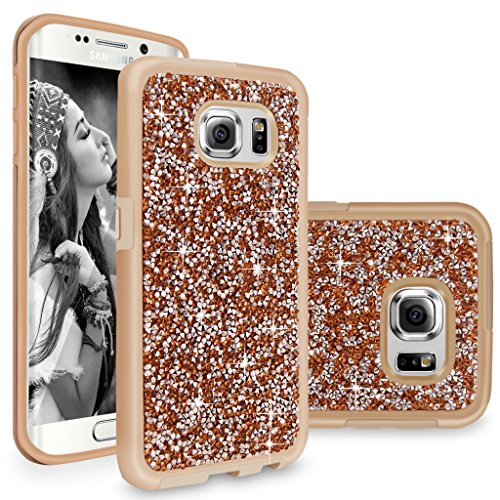 Cellularvilla Rhinestone Shockproof Protective Champagne