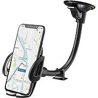 IZUKU Soporte Movil Coche para Parabrisas [con Ventosa] Porta Movil Coche para la Mayoría de los Téléfonos Inteligentes…