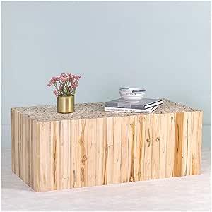 Amazon.com: EAST at MAIN Rowan Teak Coffee Table: Kitchen ...