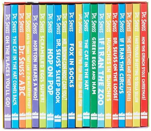 The Wonderful World of Dr. Seuss 20 Reading Books Collection Gift Box Set for $<!--$121.90-->