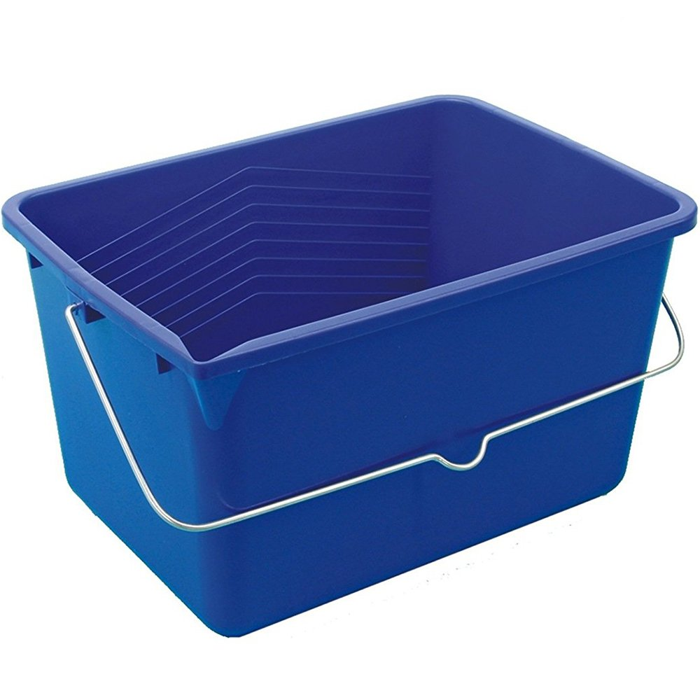 Bü rstenmann mop secchio di plastica, 12 litri, blu 12litri Bürstenmann 2304863