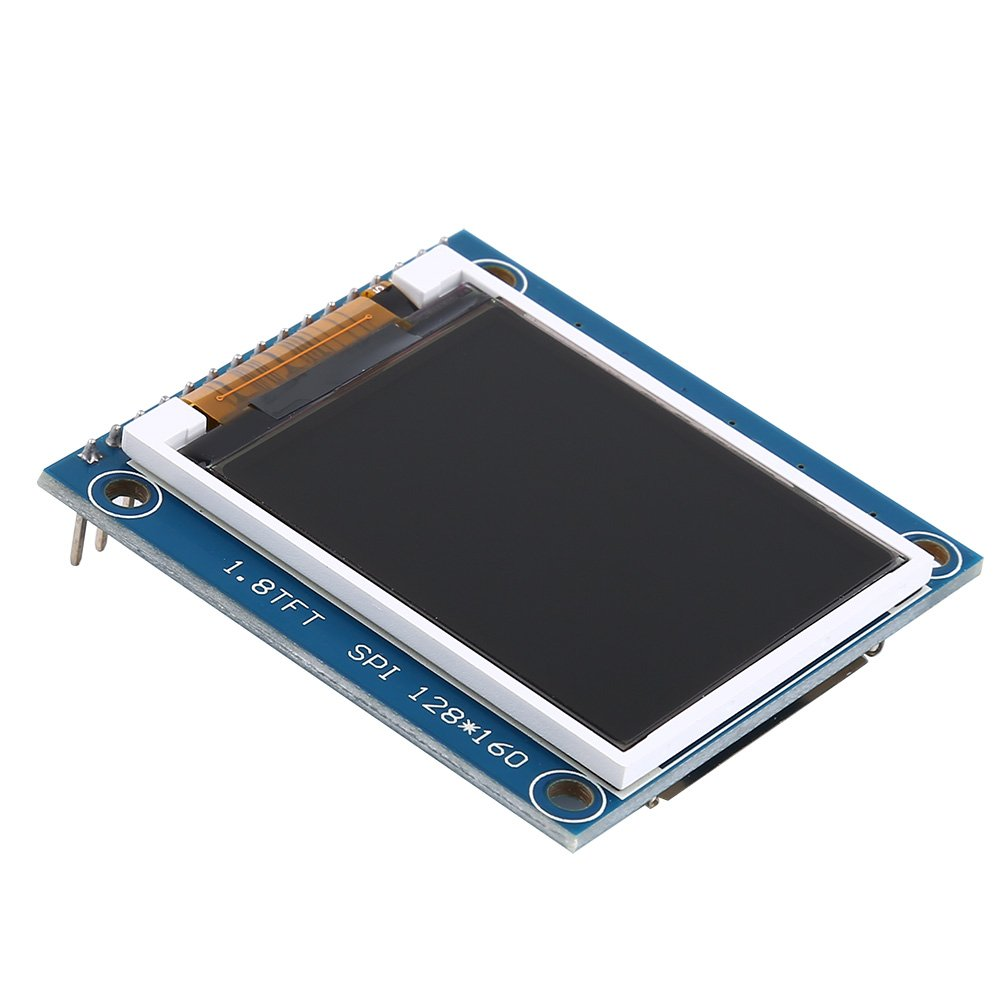 1.8 inch SPI TFT LCD Display Module with PCB for Arduino Uno/Mega/Nano