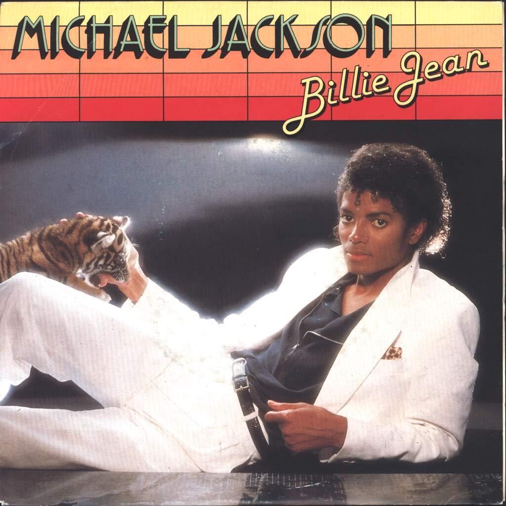 Michael Jackson - Michael Jackson (1982 EPIC Printed in Holland) Billie Jean  [vinyl 45] - Amazon.com Music