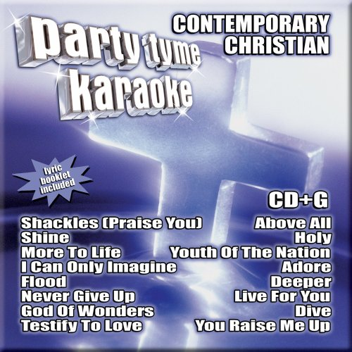 Party Tyme Karaoke - Contemporary Christian 1 (16-song CD+G)