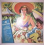 1958 Lola Beltran 4 Four Quatro Copas : Peerless LPL 183 : Mariachi Guadalajara De Silvestre Vargas : Spanish/Mexico/Mexican/Latino/South American/Folk Vinyl 33 RPM : Comes with a CD Transfer