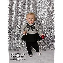 7FTX7FT Silver Sequin Backdrops, Silver Sequin Fabric, Wedding Backdrops, Christmas Decoration, Sequin Curtains, Drape, Sequin Panels, Blush Home Decor